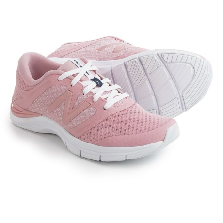 New Balance 711 Heathered Fitness Training Shoes (For Women) in Pink