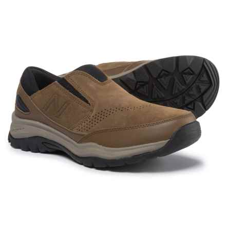 New Balance 770 Suede Trail Walking Shoes - Suede, Slip-Ons (For Men) in Brown/Black - Closeouts