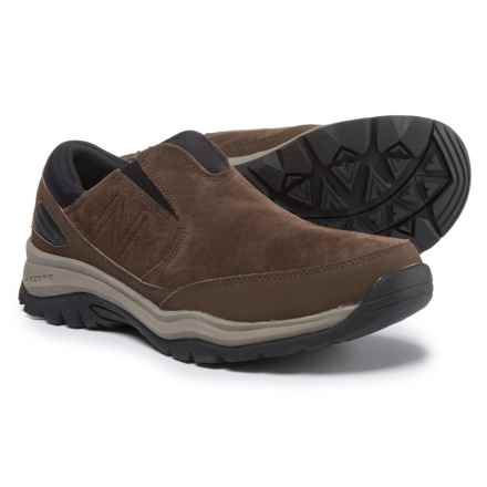 New Balance 770 Suede Trail Walking Shoes - Suede, Slip-Ons (For Men) in Brown - Closeouts