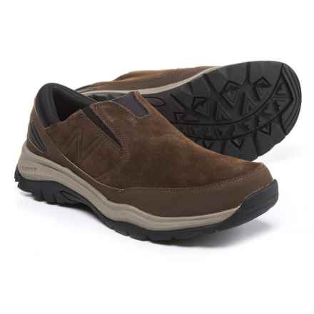 New Balance 770 Suede Trail Walking Shoes - Suede, Slip-Ons (For Men) in Dark Brown - Closeouts