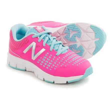 New Balance 775V1 Running Shoes (For Little and Big Girls) in Pink/Turquoise - Closeouts