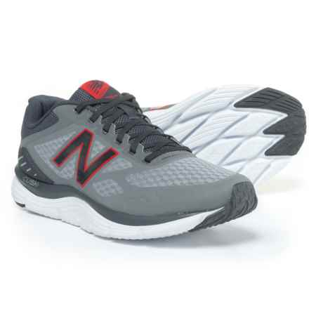 New Balance 775v3 Cush+ Running Shoes (For Men) in Grey/Red - Closeouts