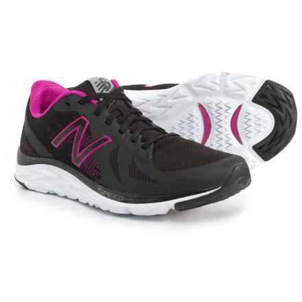 New Balance 790V6 Cross-Training Shoes (For Women) in Black/Poison Berry - Closeouts