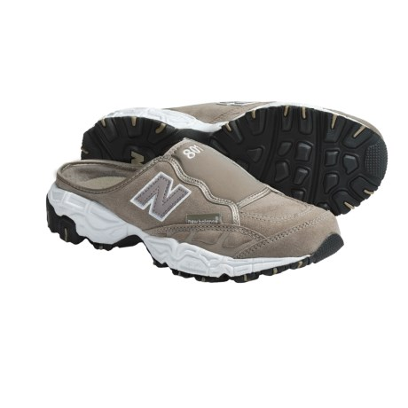 New Balance 801 Classic Mules - Slip-Ons (For Women) in Grey