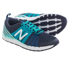 New Balance 811 Cross Training Shoes (For Women) in Navy Blue/Mint - Closeouts