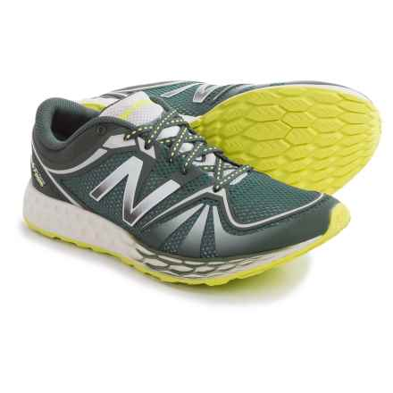 New Balance 822v2 Fresh Foam Running Shoes (For Women) in Slate Green/Hi-Lite - Closeouts