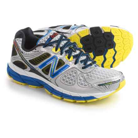 New Balance 860V4 Running Shoes (For Men) in Silver - Closeouts