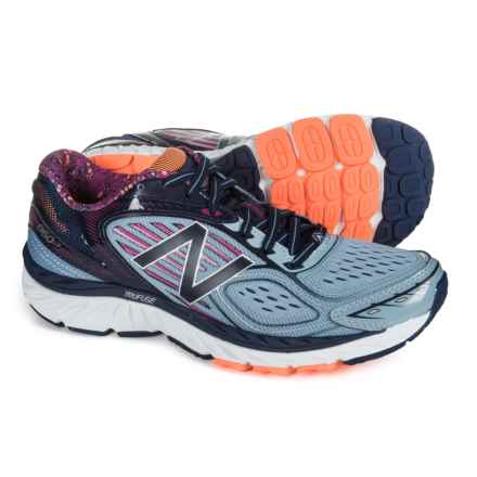 New Balance 860v7 Running Shoes (For Women) in Reflection/Poisonberry/Pigment - Closeouts