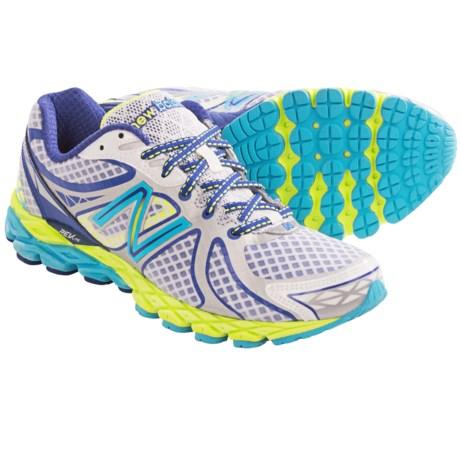 New Balance 870V3 Running Shoes (For Women) in White/Blue