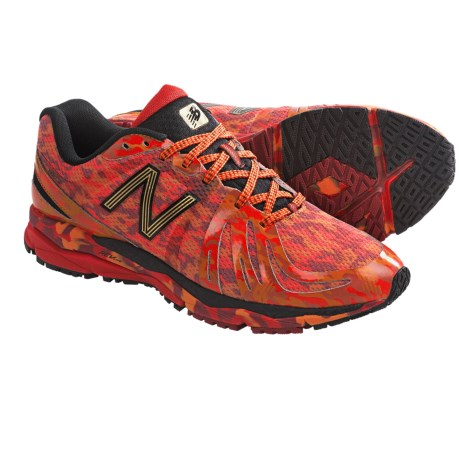 New Balance 890v2 Running Shoes (For Men) in Red/Orange/Black