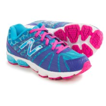 New Balance 890V5 Running Shoes (For Little and Big Girls) in Blue/Blue - Closeouts