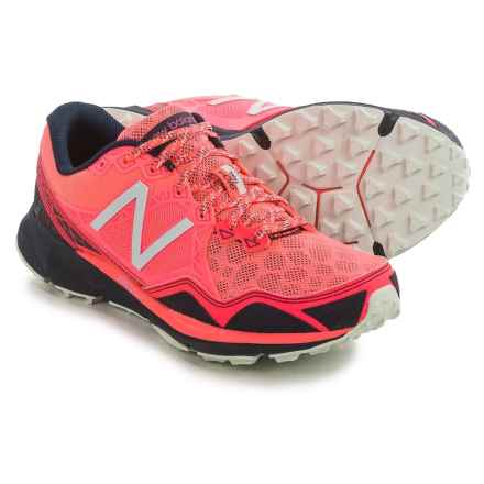 New Balance 910V3 Trail Running Shoes (For Women) in Pink/Dark Grey - Closeouts
