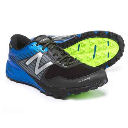 New Balance 910V4 Trail Running Shoes (For Men) in Black/Vivid Cobalt Blue - Closeouts