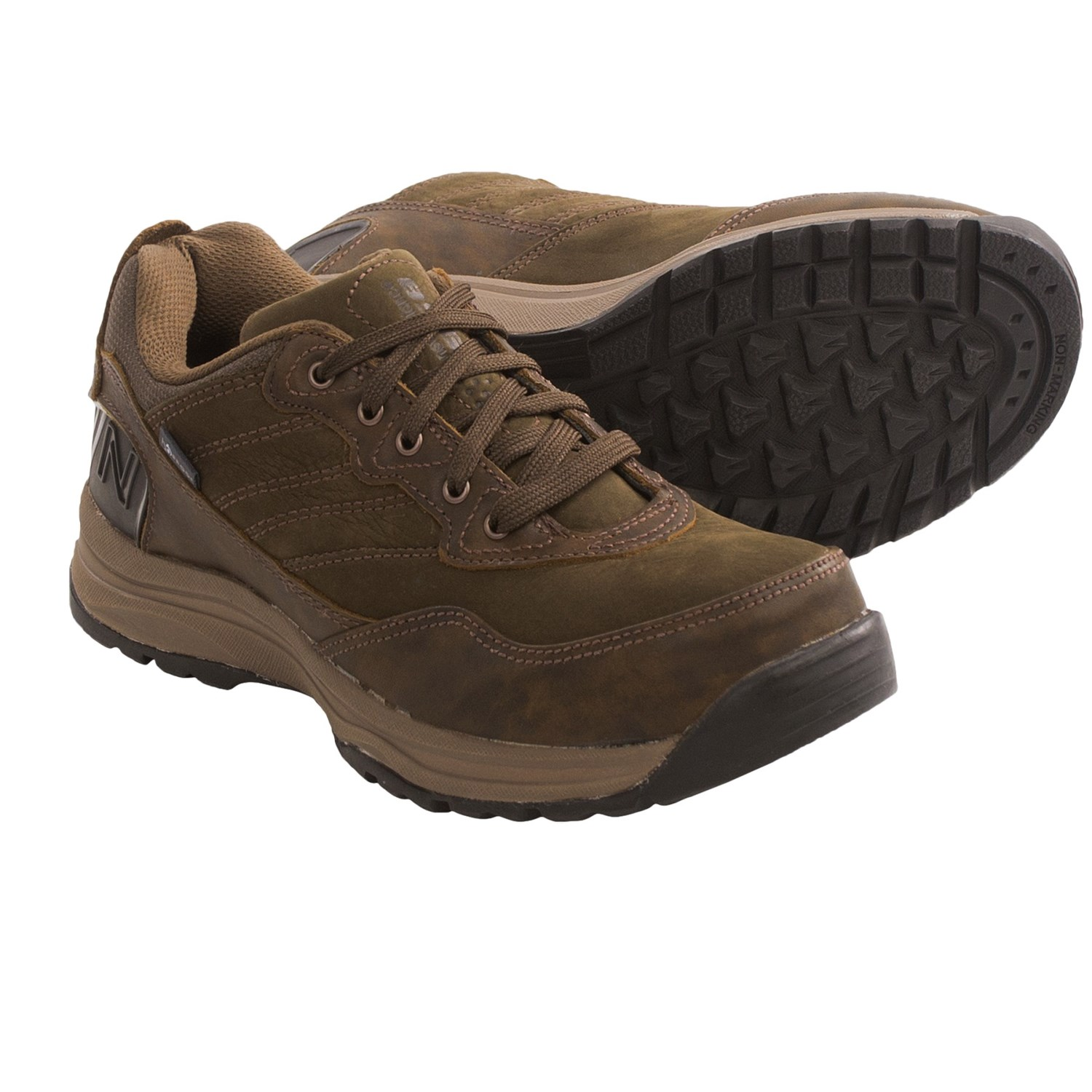 New Balance 968 Walking Shoes - Leather (For Women) in Brown