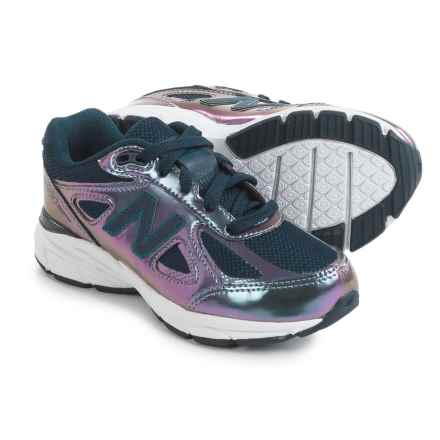 New Balance 990 Running Shoes (For Little and Big Girls) in Purple - Closeouts