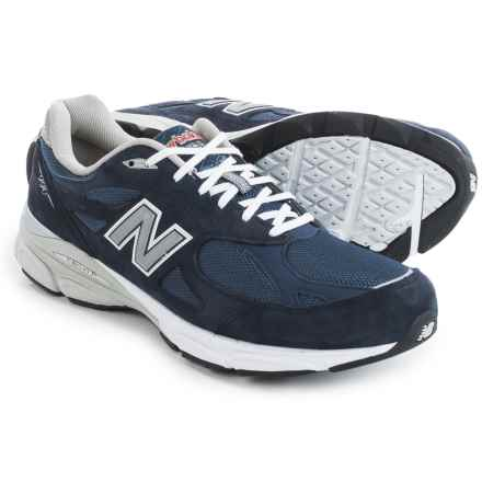 New Balance 990v3 Running Shoes (For Men) in Navy - Closeouts
