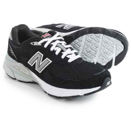 New Balance 990v3 Running Shoes (For Women) in Black - Closeouts