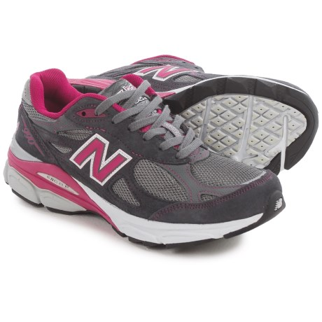 buy online 3b1ce 1f866 ... pink  new balance 990v3 running shoes (for women) .