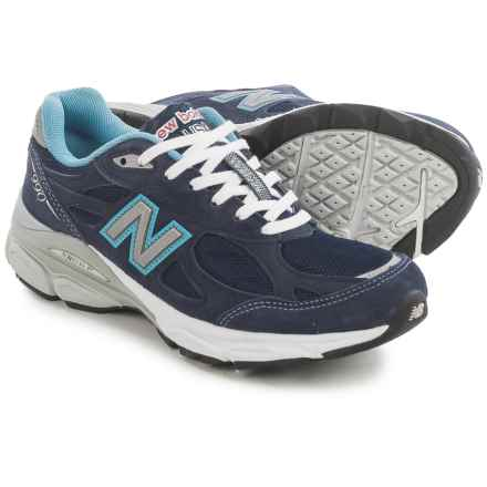 New Balance 990v3 Running Shoes (For Women) in Navy - Closeouts