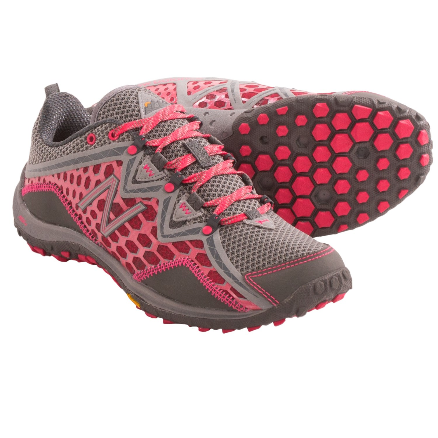 New Balance 99V1 Trail Shoes (For Women) in Silver/Pink