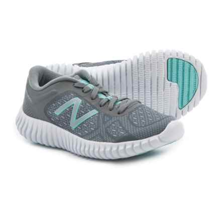 New Balance 99v2 Trainer Cross-Training Shoes (For Girls) in Silver Mink/Gunmetal - Closeouts