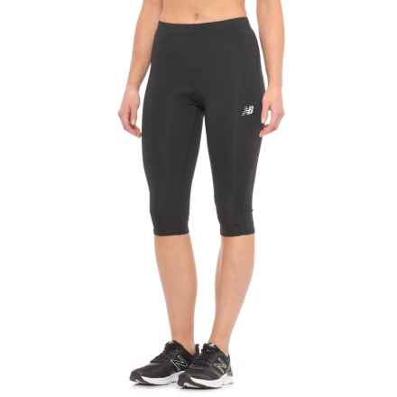 New Balance Accelerate Capris (For Women) in Black - Closeouts