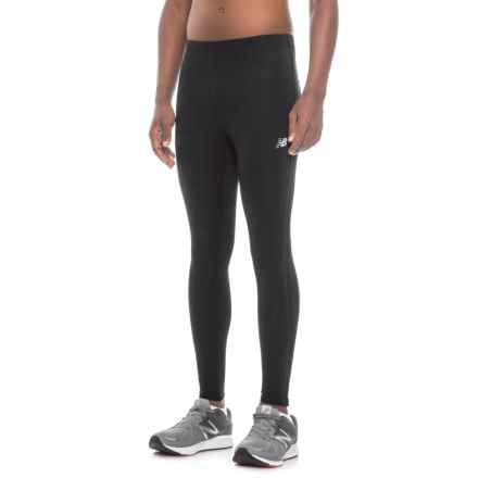 New Balance Accelerate Running Tights (For Men) in Black - Closeouts