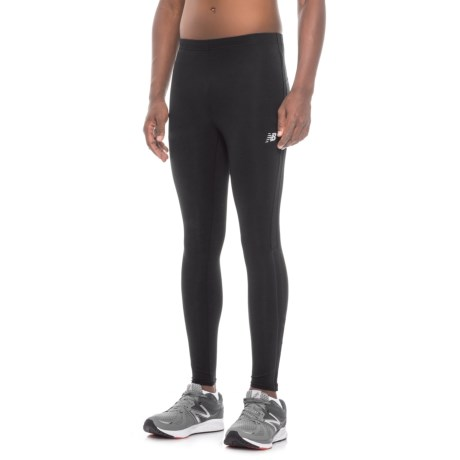 New Balance Accelerate Running Tights (For Men) in Black