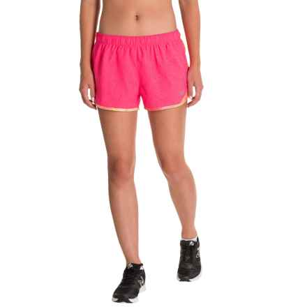 New Balance Accelerate Shorts - Built-In Briefs (For Women) in Alpha Pink - Closeouts