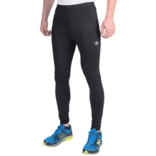 New Balance Accelerate Tights (For Men) in Black - Closeouts