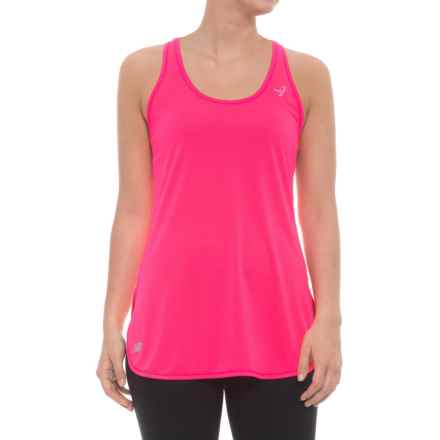 New Balance Accelerate Tunic Shirt - Sleeveless (For Women) in Alpha Pink - Closeouts
