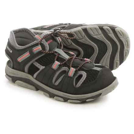 New Balance Adirondack Sandals (For Little Kids) in Black/Grey - Closeouts