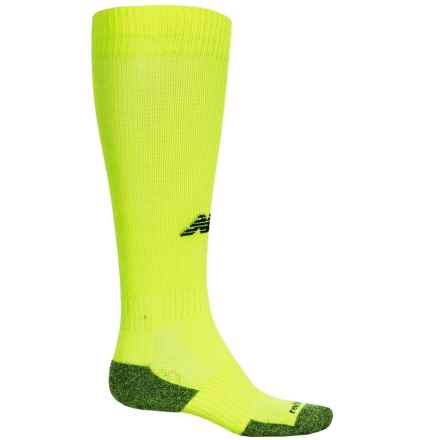 New Balance All-Sport-Performance Socks - Over the Calf (For Women) in Yellow - Closeouts