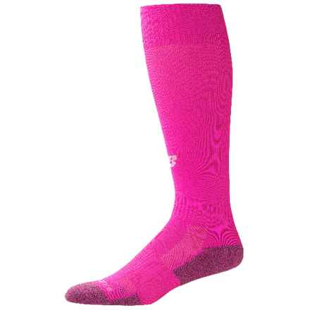New Balance All-Sport Socks - Over the Calf (For Little and Big Kids) in Pink - Closeouts