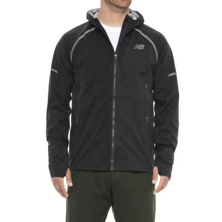 New Balance All-Weather Jacket (For Men) in Black - Closeouts
