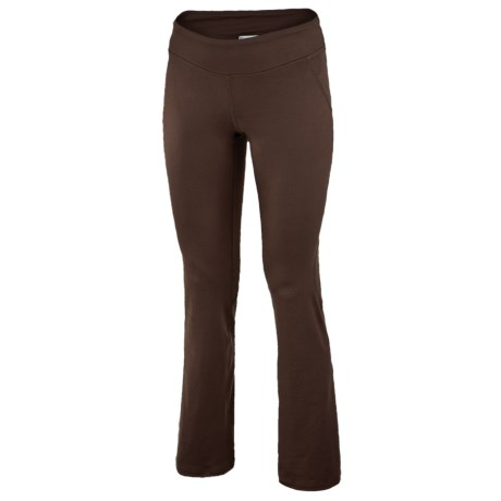 New Balance Anue Mantra Yoga Pants (For Women) in Coffee Brown