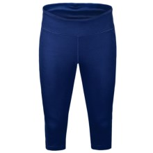 New Balance Anue Spree Knee Capris (For Women) in Blue Depths - Closeouts