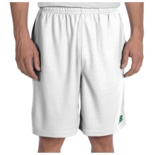 New Balance Baseline Shorts (For Men) in White Astroturf - Closeouts
