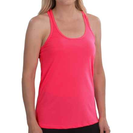 New Balance Basic Tank Top - Racerback (For Women) in Pink Zing - Closeouts