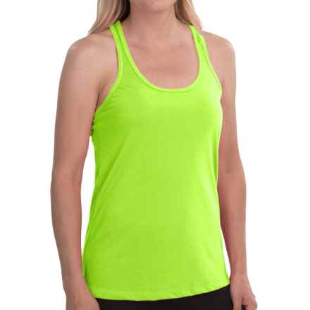 New Balance Basic Tank Top - Racerback (For Women) in Toxic - Closeouts