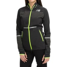 New Balance Beacon Jacket (For Women) in Black - Closeouts