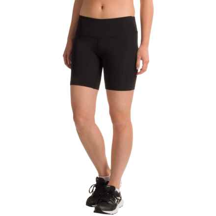 "New Balance Bike Shorts - 7"" (For Women) in Black - Closeouts"