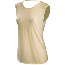 New Balance Burnout Tank Top (For Women) in Seed Pearl - Closeouts
