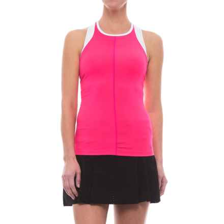 New Balance Centre Court Tank Top - Racerback (For Women) in Akk Alphapnk - Closeouts