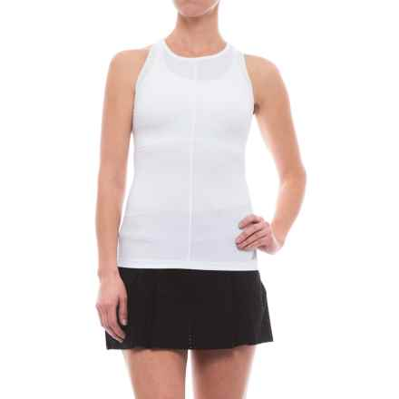 New Balance Centre Court Tank Top - Racerback (For Women) in Wt White - Closeouts