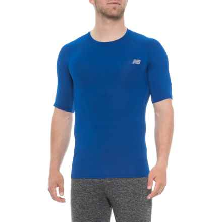 New Balance Challenge Shirt - Short Sleeve (For Men) in Team Royal - Closeouts