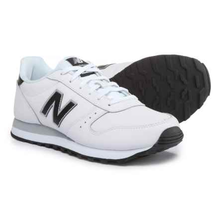 New Balance Classic 311 Sneakers - Leather (For Men) in White / Black - Closeouts