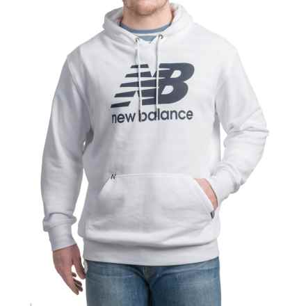 New Balance Classic Hoodie (For Men) in White - Closeouts