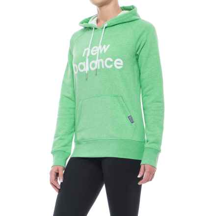 New Balance Classic Hoodie (For Women) in Vivid Jade - Closeouts