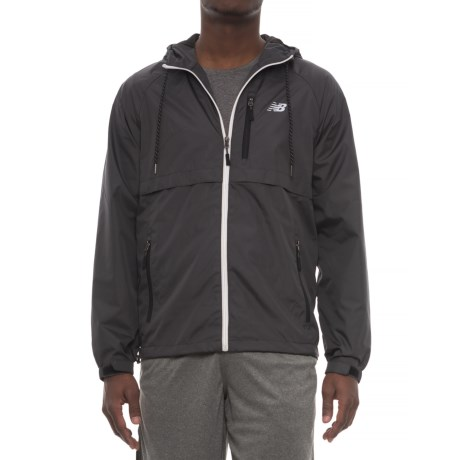 New Balance Coated Mini Ripstop Jacket (For Men) in Magnet
